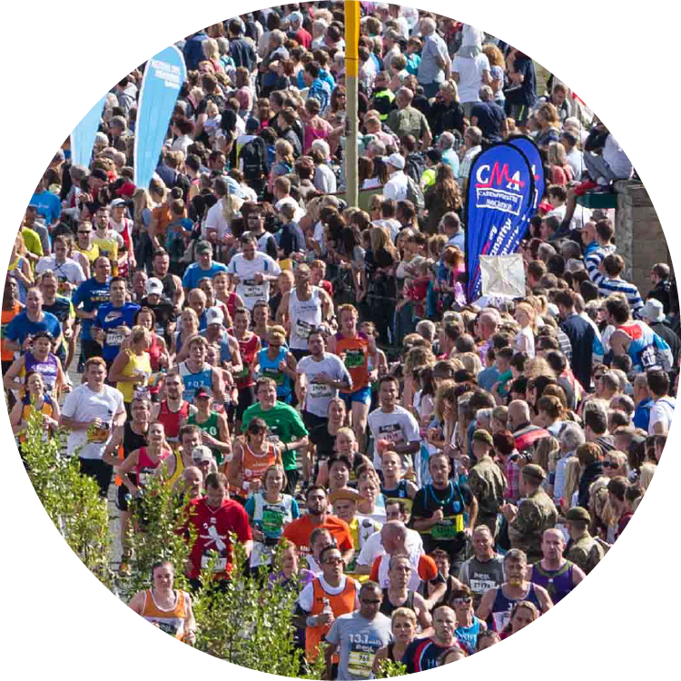 Photo of runners in the Great South Run
