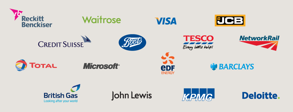 Companies that fundraise with JustGiving