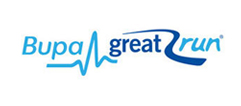 Bupa great run logo