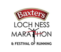 Baxters Loch ness Marathon logo