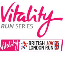 Vitality run series logo