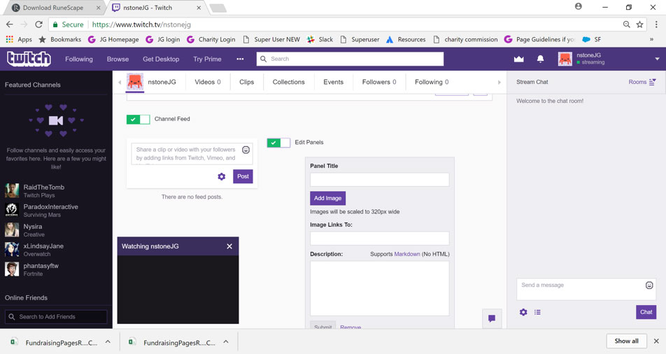 How to stream a gaming event - JustGiving